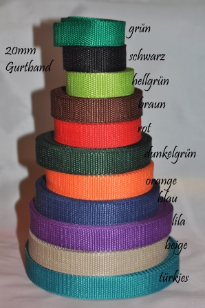 20mm Gurtband