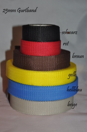 25mm Gurtband